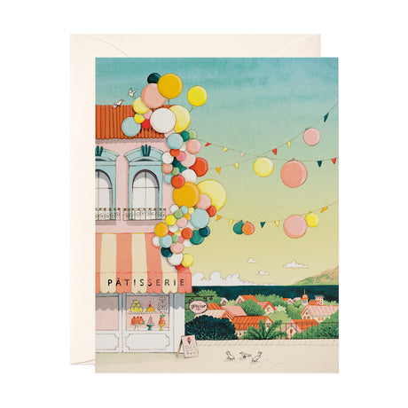 Balloon Clusters Blank Card