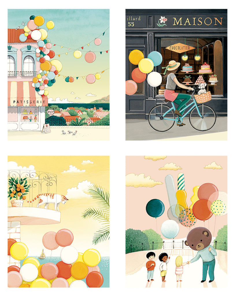 Balloons Card Set