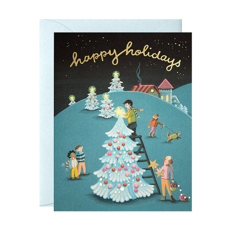 Tree Decorating Card