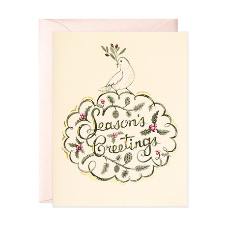 Dove Season's Greetings Card