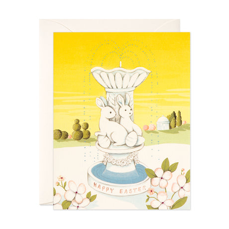 Easter Fountain Card