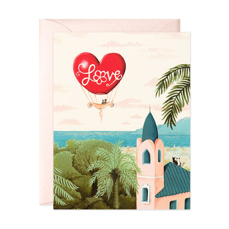 Love Balloon Card