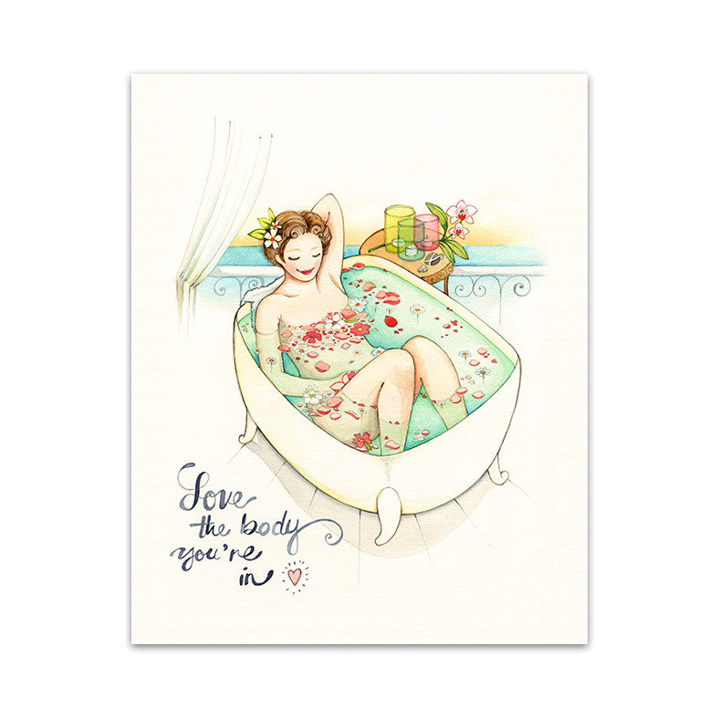 Love the Body You're in Art Print