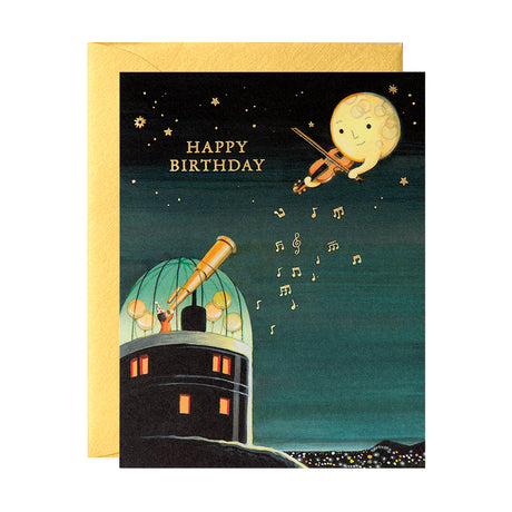 Observatory Birthday Card