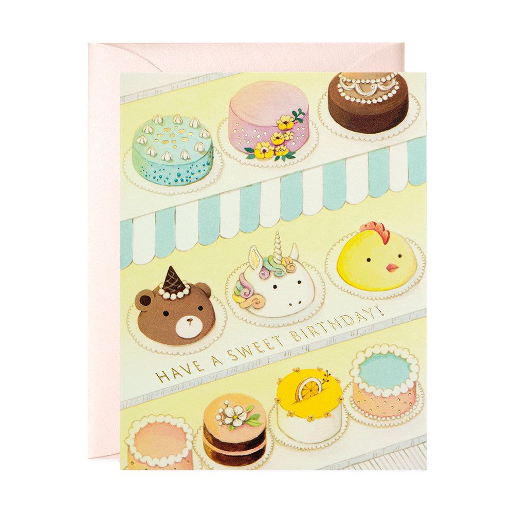 Pastry Shop Birthday Card