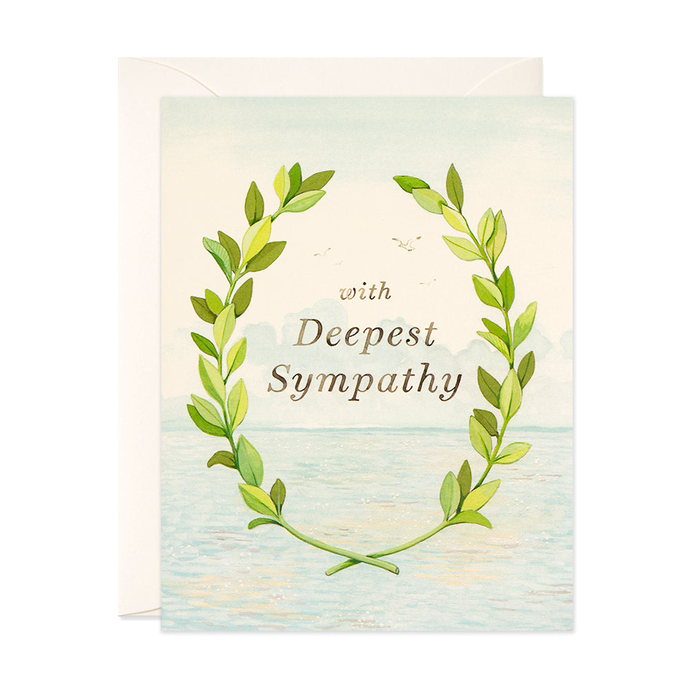 with deepest sympathy card joojoo paper