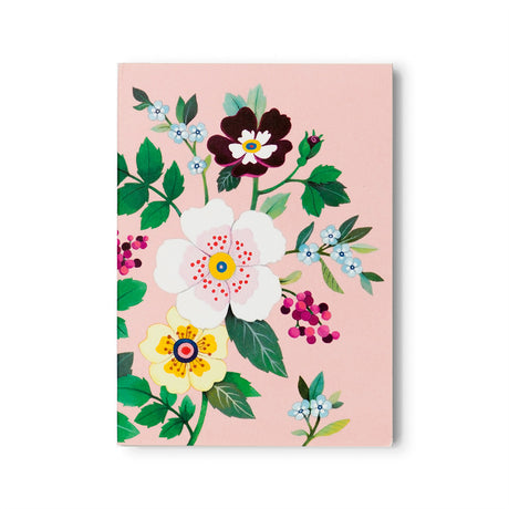 Pink Floral Notepad