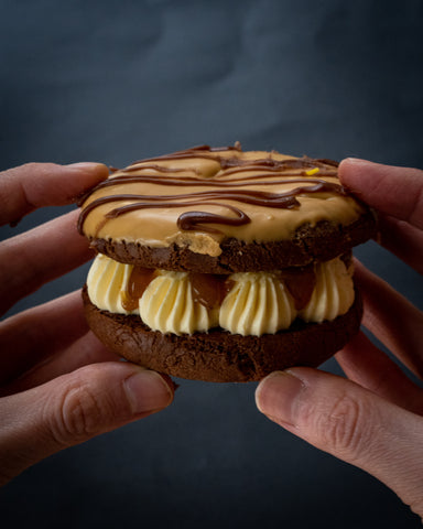 Brownie Cookie Sandwich