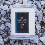 Naughty Deluxe Soy Candle