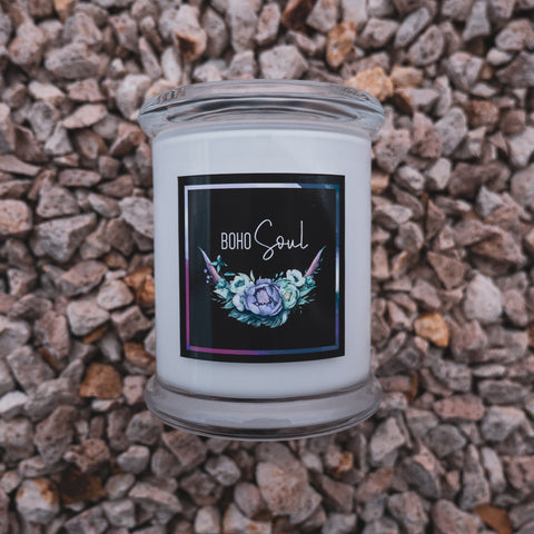 Boho Soul Deluxe Soy Candles