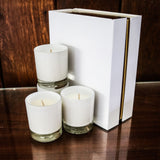 Premium Candle Gift Set ~ Gloss White