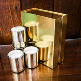 Premium Candle Gift Set ~ Gold