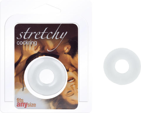 Stretchy Cockring (Clear)