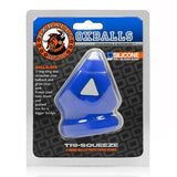 Tri Squeeze Cocksling Ballstretcher Cobalt Ice