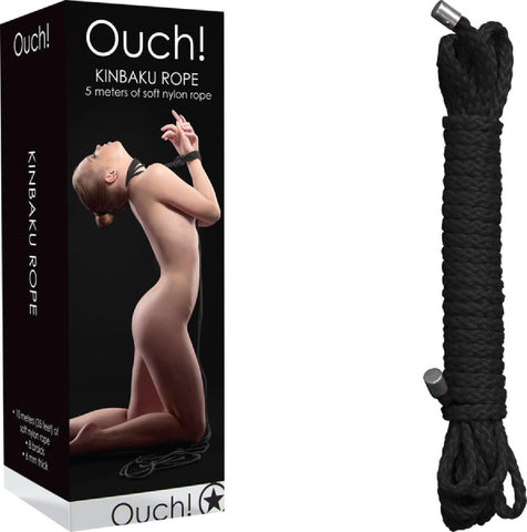 Kinbaku Rope - 5m (Black)