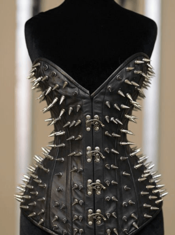 Leather Ultimate Spike Corset