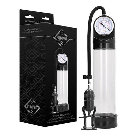 Pumped Deluxe Pump with Advanced PSI Gauge