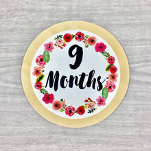 9 Months Circle Baby Milestone Shapes Stick'em Up Baby™