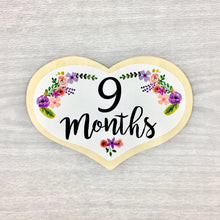 9 Months Heart Baby Milestone Shapes Stick'em Up Baby™