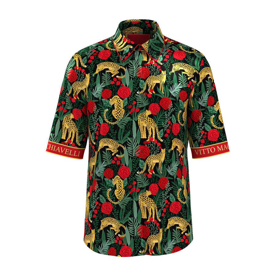 Rose tshirt mens