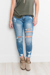 KanCan Light Wash Destroyed Jeans