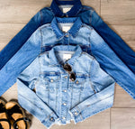Up For Anything Denim Jacket