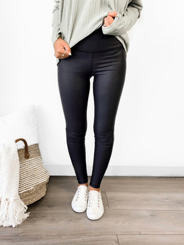Stay Sleek Foil Legging