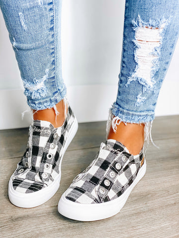 Buffalo Plaid Blowfish Sneaker