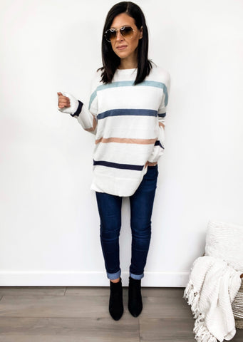 Pulling Heart Strings Sweater