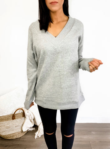 Cuddle Weather V-Neck Sweater