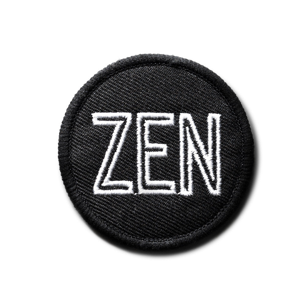 ZEN ROUNDEL IRON-ON PATCH