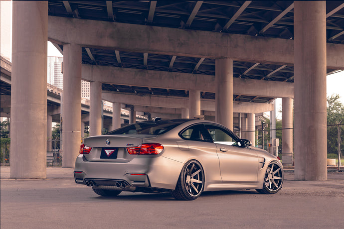 "Ferrada FR1 Matte Black 20"" on BMW M4"