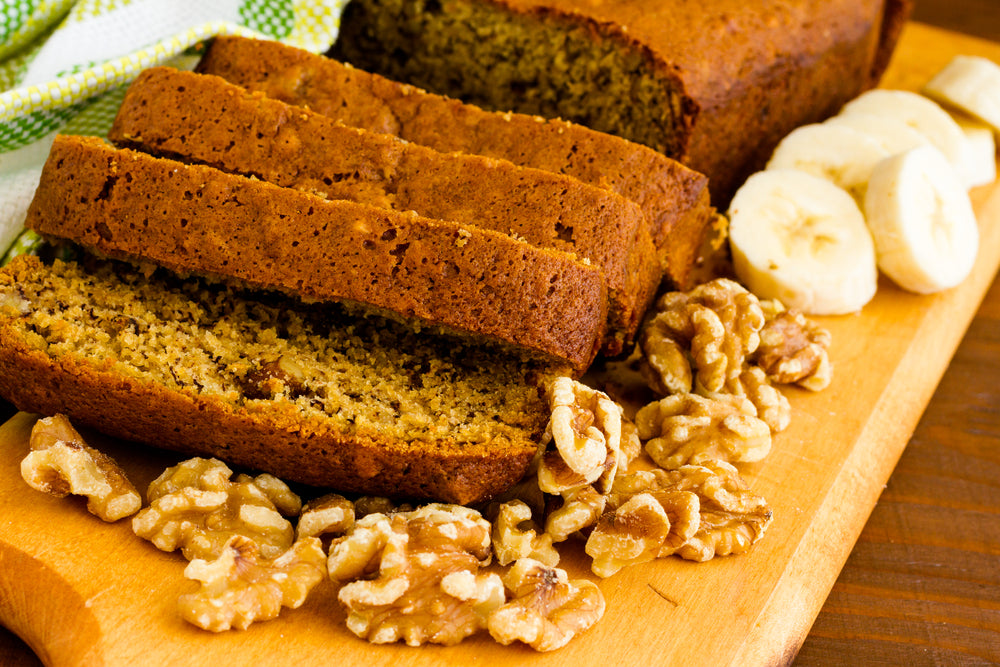 One Bowl Banana Nut Bread