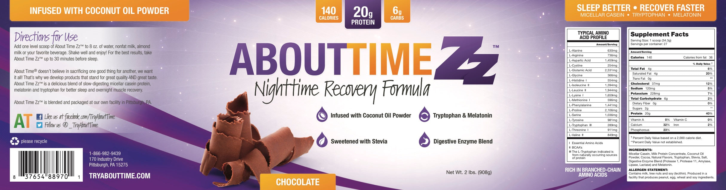Recovery- Gluten Free - About Time – Try About Time