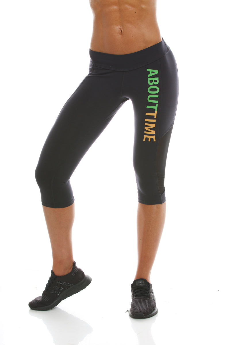 Signature Series Women's Capri Legging - Black