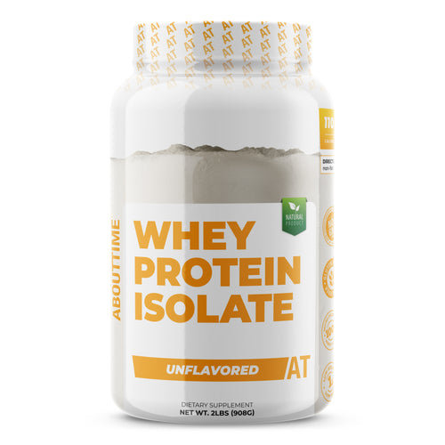 NEW Whey Protein Isolate Unflavored