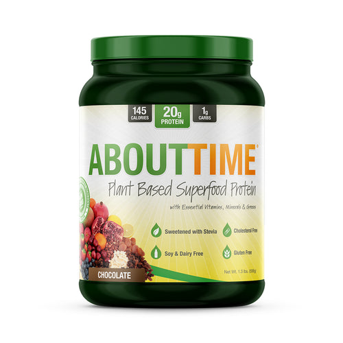 About Time Natural Protein Supplements ABOUTTIME