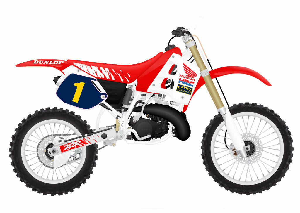 Jean-Michel Bayle 1991-92 supercross Replica