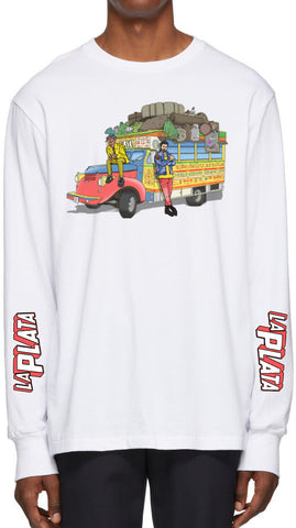 La Plata Long Sleeve T-Shirt (White)