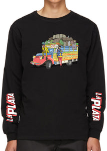 La Plata Long Sleeve T-Shirt (Black)