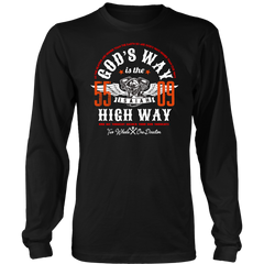 God's Way or The Highway Long Sleeve Shirt