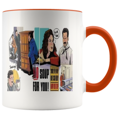 The Armoire and The Soup Seinfeld Fan Coffee Mug