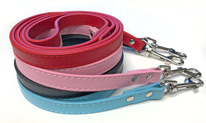SCOOTER Leather Leash