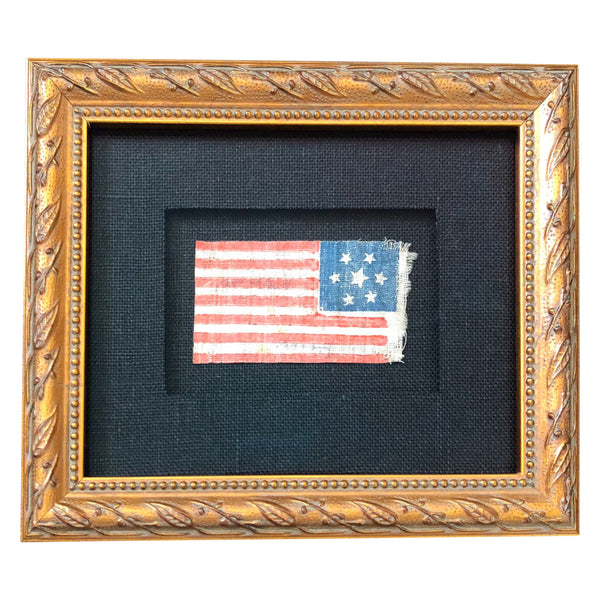 Antique Vintage 7 Star Flag 1876 - 1900