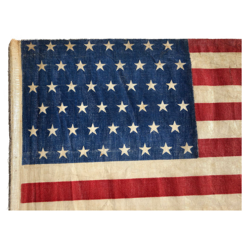 48 Star Flag - WWI Era Staggered Star Parade Flag