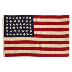46 Star Flag with ordered Change in Positioning Point