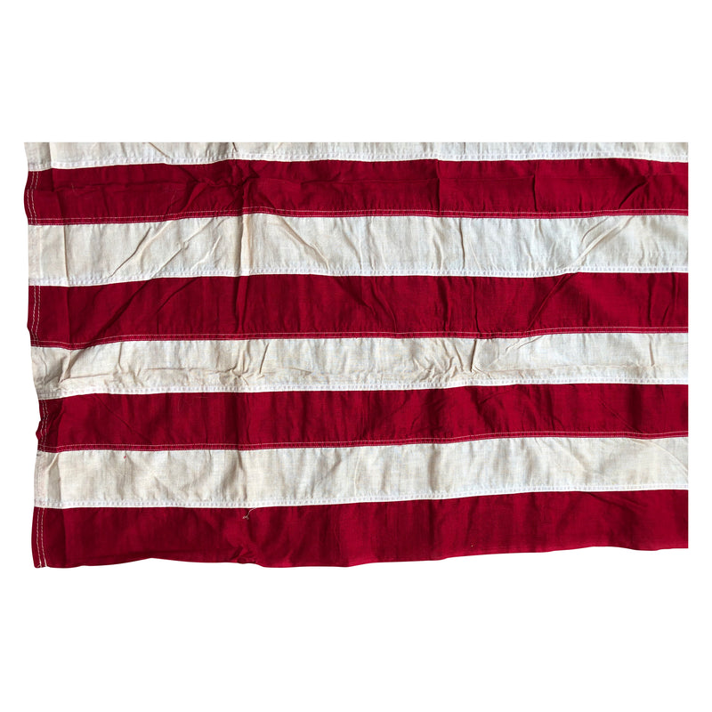 Vintage 49 Star Flag Made by Valley Forge Flag Co.