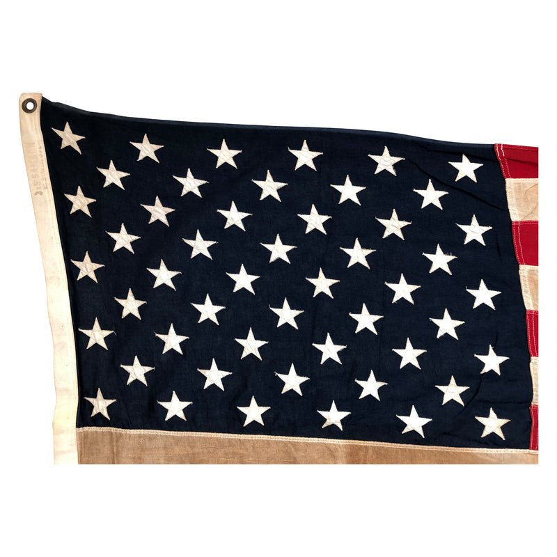 Vintage 50 Star Flag - Sewn Star and Stripes - Early 60s