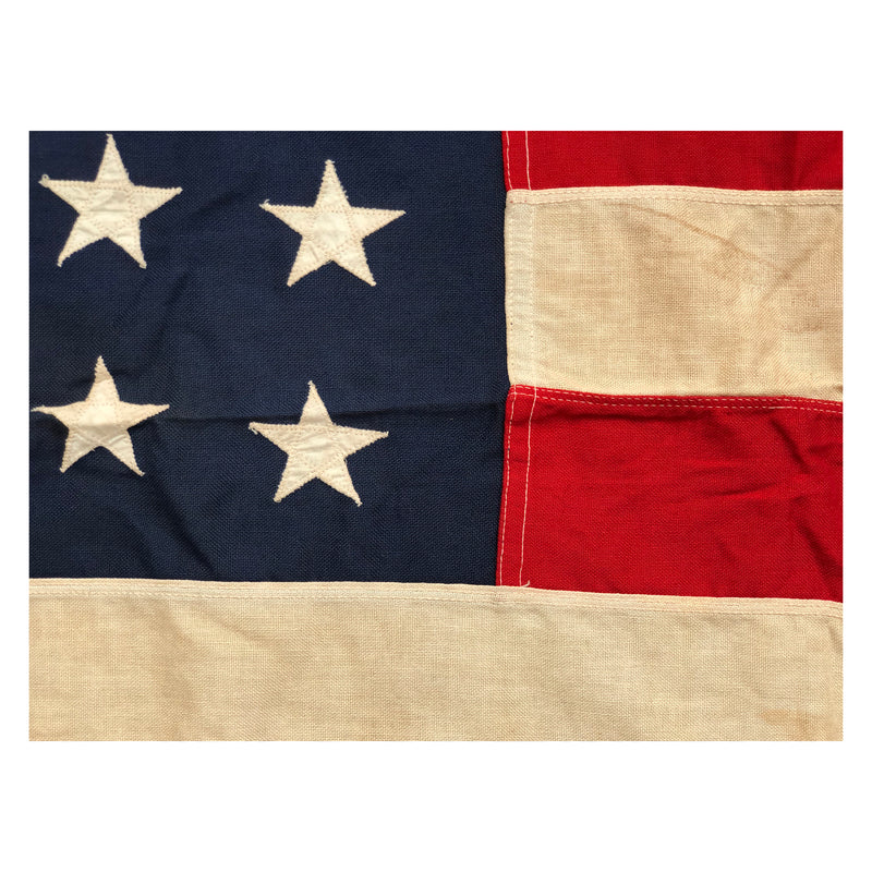 Vintage 48 Star Flag - Sewn Stars and Stripes