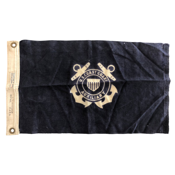 Vintage Coast Guard Flag, United States Coast Guard Ensign Flag